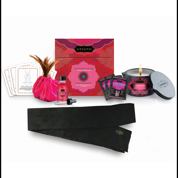 Kama Sutra - Treasure Trove Gift Set Aardbei Online Sexshop Eroware Sexshop Sexspeeltjes