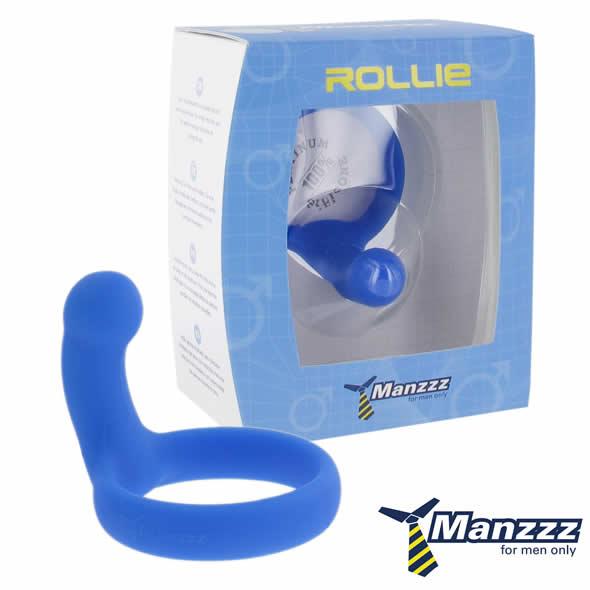 ManzzzToys - Rollie Penis Ring Blue Online Sexshop Eroware Sexshop Sexspeeltjes