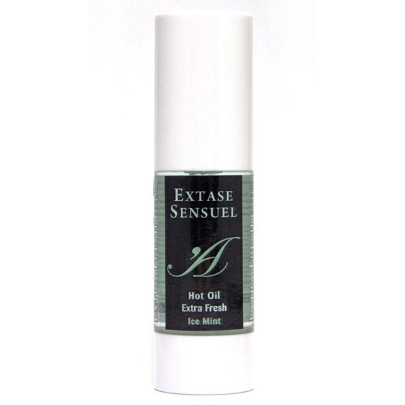 Extase Sensuel - Hot Oil Stimulant Ice Mint Online Sexshop Eroware Sexshop Sexspeeltjes