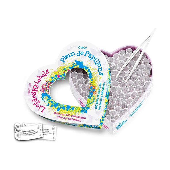 Hart Vol Liefdeskriebels & Coeur Plein de Papillons (NL-FR) Online Sexshop Eroware Sexshop Sexspeeltjes