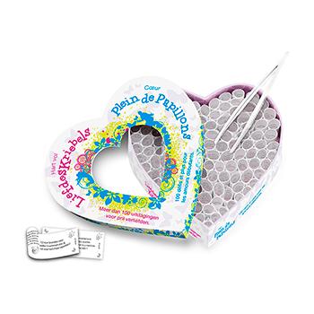 Hart Vol Liefdeskriebels & Coeur Plein de Papillons (NL-FR)