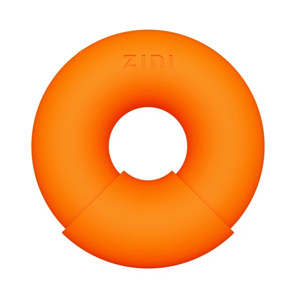ZINI - Donut Vibrator Oranje Online Sexshop Eroware Sexshop Sexspeeltjes