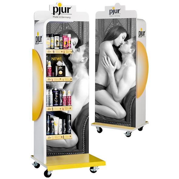 Pjur - Floor Display incl. Products Online Sexshop Eroware Sexshop Sexspeeltjes