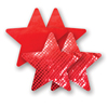 Nippies - Solid Red Star Sexshop Eroware -  Sexartikelen