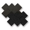 Nippies - Basic Black Cross Sexshop Eroware -  Sexspeeltjes