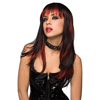 Courtney Wig - Black with Burnt Red Sexshop Eroware -  Sexartikelen