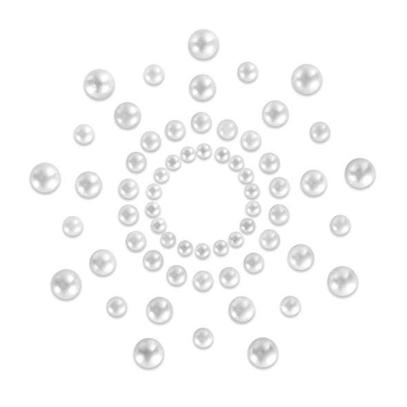 Mimi Nipple Covers - White Pearl image