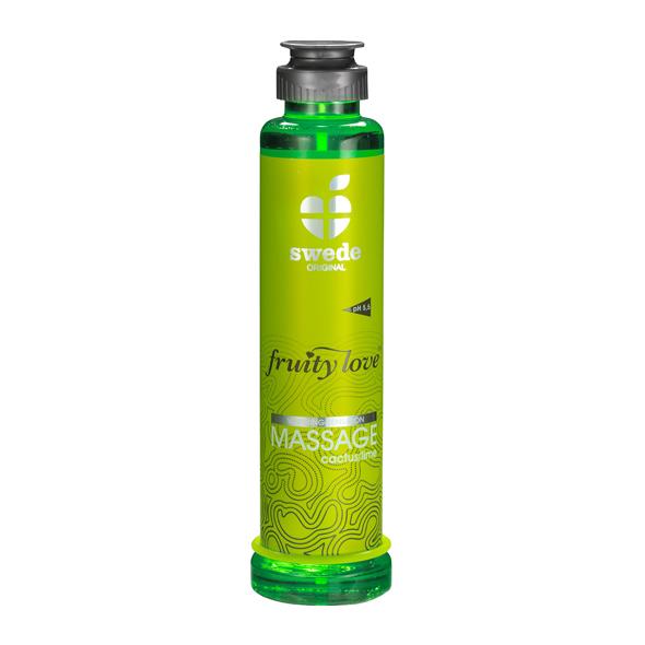 Swede - Fruity Love Massage Cactus Limoen 200 ml Online Sexshop Eroware Sexshop Sexspeeltjes