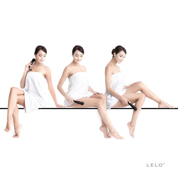 Lelo - Smart Wand Massager Medium Black