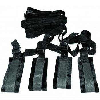 S&M - Bed Bondage Restraint Kit