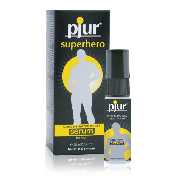 Pjur - Superhero Delay Serum 20 ml Online Sexshop Eroware Sexshop Sexspeeltjes