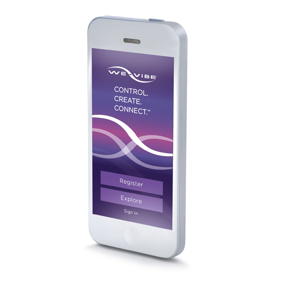 We-Vibe 4 Plus App Only Model Purple