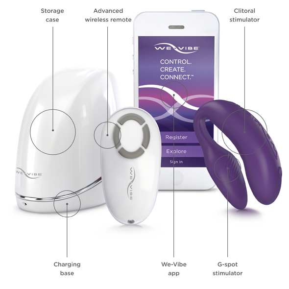We-Vibe 4 Plus Purple