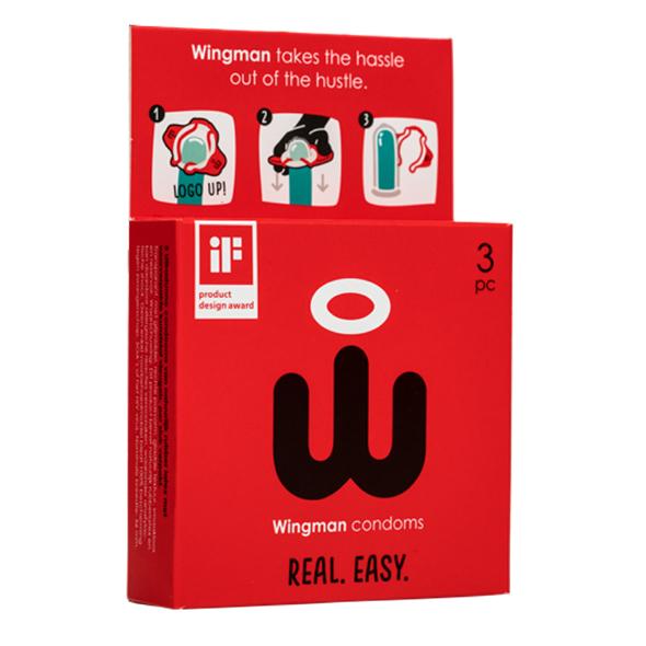 Wingman Condoms 3 Pieces Online Sexshop Eroware Sexshop Sexspeeltjes