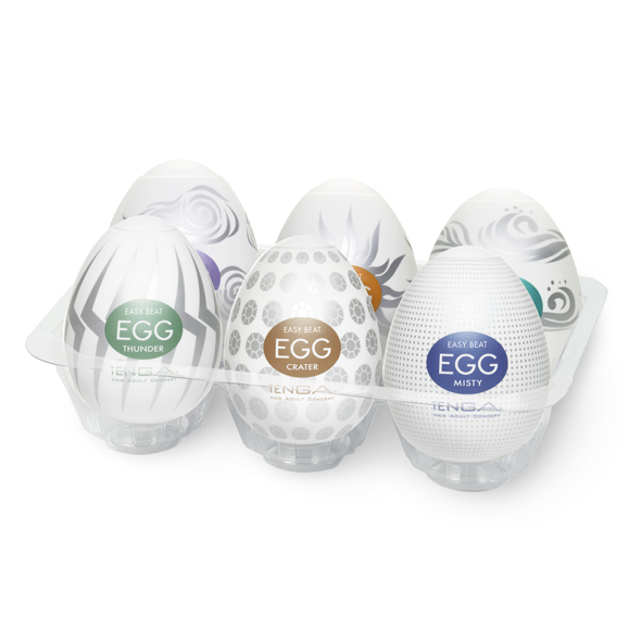Tenga - Egg 6 Styles Pack Serie 2 Online Sexshop Eroware Sexshop Sexspeeltjes