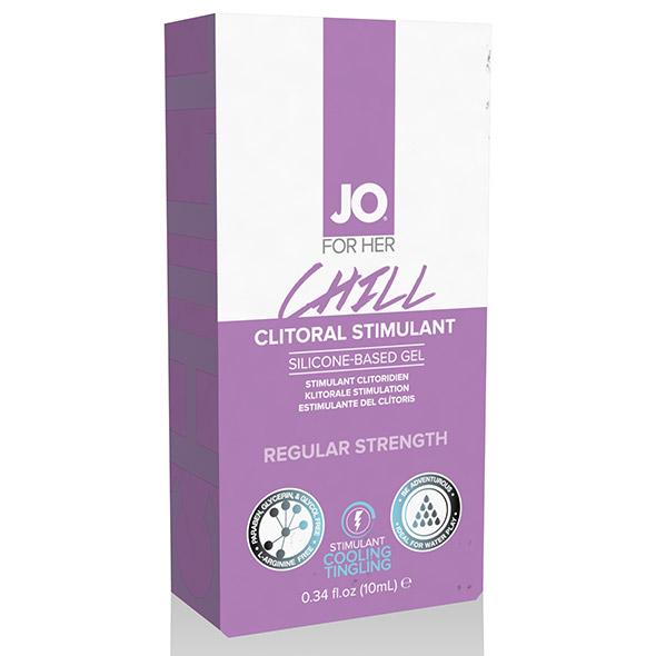 System JO - Clitoral Stimulant Cooling Chill 10 ml Online Sexshop Eroware Sexshop Sexspeeltjes