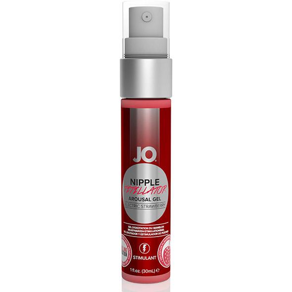 System JO - Nipple Titillator Aardbei 30 ml Online Sexshop Eroware Sexshop Sexspeeltjes