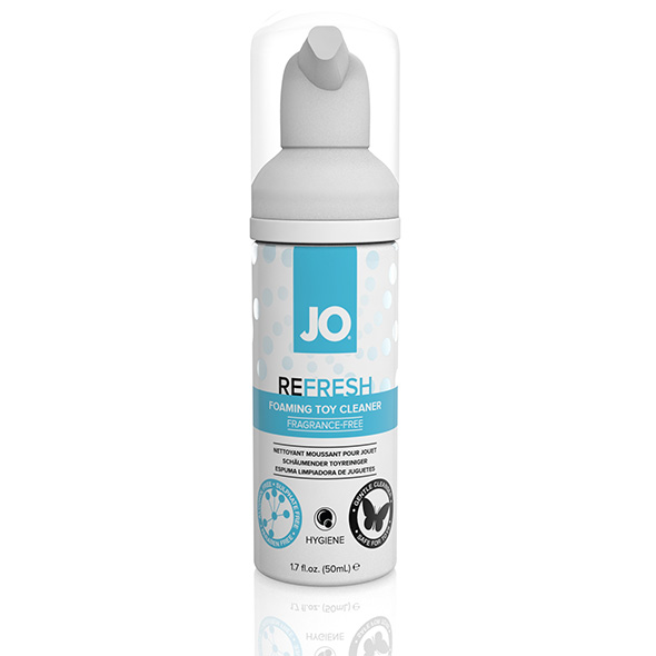 System JO - Refresh Foaming Toy Cleaner 50 ml Online Sexshop Eroware Sexshop Sexspeeltjes