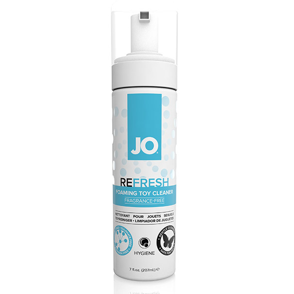 System JO - Refresh Foaming Toy Cleaner 207 ml Online Sexshop Eroware Sexshop Sexspeeltjes