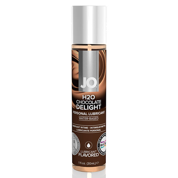 System JO - H2O Lubricant Chocolate 30 ml Online Sexshop Eroware Sexshop Sexspeeltjes