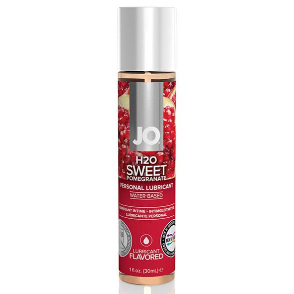 System JO - H2O Lubricant Pomegranate 30 ml Online Sexshop Eroware Sexshop Sexspeeltjes