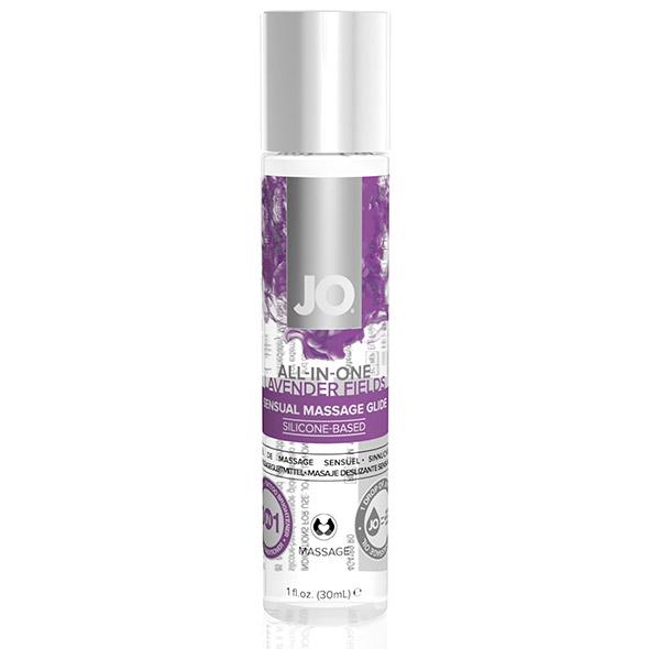 System JO - All-in-One Sensual Massage Glide Lavendel 30 ml Online Sexshop Eroware Sexshop Sexspeeltjes