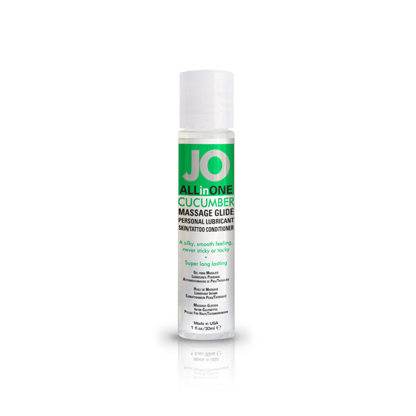 System JO - Massage Glide Cucumber 30 ml Online Sexshop Eroware Sexshop Sexspeeltjes