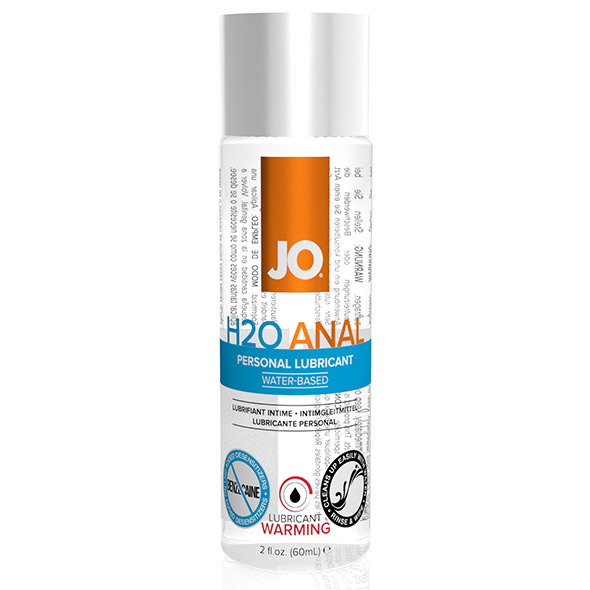 System JO - Anaal H2O Glijmiddel Warm 60 ml Online Sexshop Eroware Sexshop Sexspeeltjes
