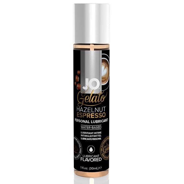 System JO - Gelato Hazelnoot Espresso Glijmiddel Waterbasis 30 ml Online Sexshop Eroware Sexshop Sexspeeltjes