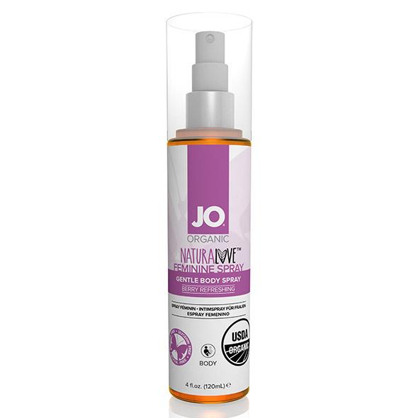 System JO - NaturaLove Organic Feminine Spray 120 ml Online Sexshop Eroware Sexshop Sexspeeltjes