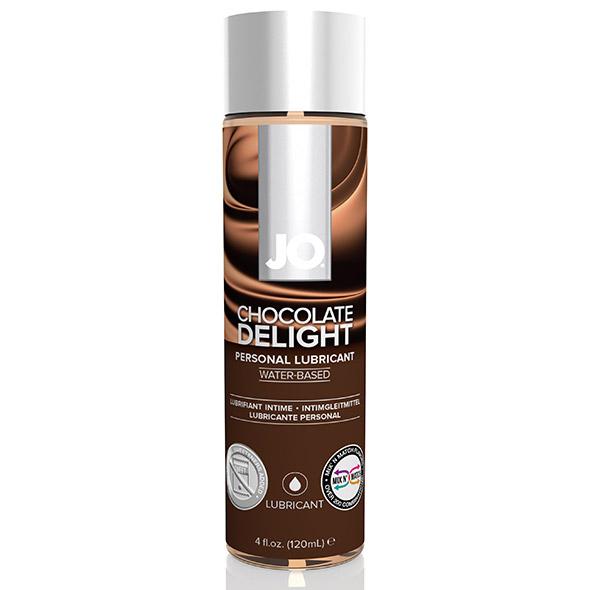 System JO - H2O Lubricant Chocolate 120 ml Online Sexshop Eroware Sexshop Sexspeeltjes