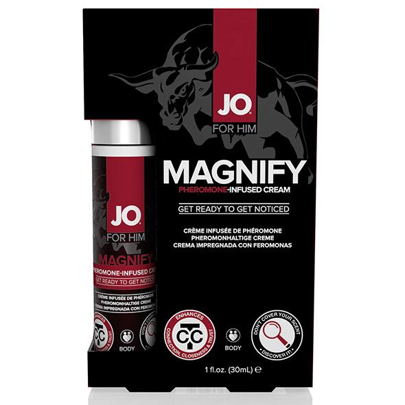 System JO - For Him Magnify Pheromone Infused Cream 30 ml Online Sexshop Eroware Sexshop Sexspeeltjes
