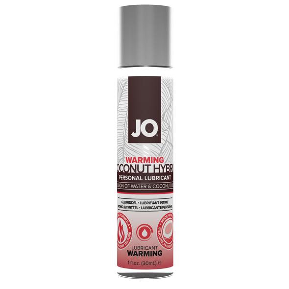 System JO - Hybrid Lubricant Coconut Warming 30 ml Online Sexshop Eroware Sexshop Sexspeeltjes