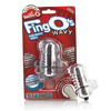 The Screaming O - The FingO Wavy Clear Sexshop Eroware -  Sexspeeltjes