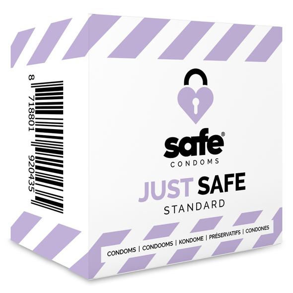 Safe - Just Safe Condooms Standard 10 stuks Online Sexshop Eroware Sexshop Sexspeeltjes