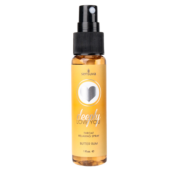 Sensuva - Throat Relaxing Spray Butter Rum Online Sexshop Eroware Sexshop Sexspeeltjes