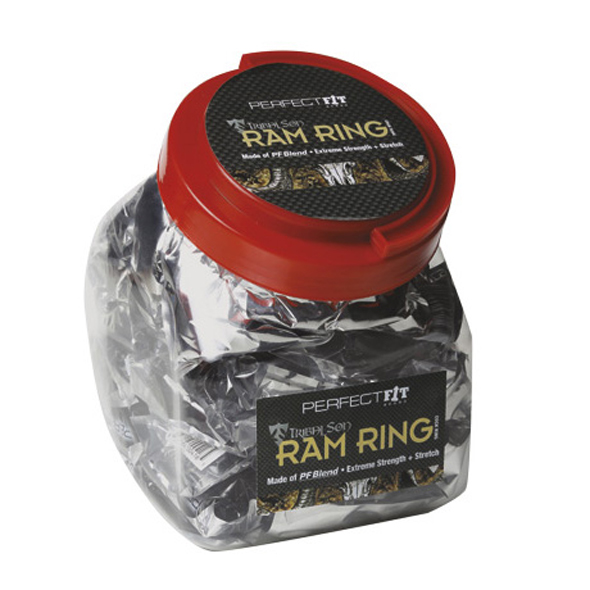 Perfect Fit - Ram Ring Black Fish Bowl 50 pcs Online Sexshop Eroware Sexshop Sexspeeltjes