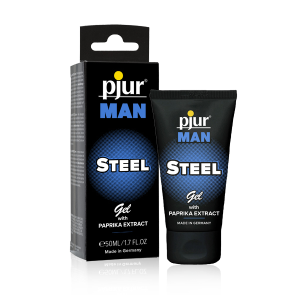 Pjur - Man Steel Gel 50 ml Online Sexshop Eroware Sexshop Sexspeeltjes