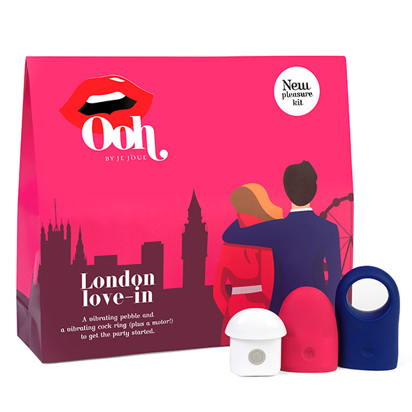 Ooh by Je Joue - London Grote Pleasure Kit Online Sexshop Eroware Sexshop Sexspeeltjes