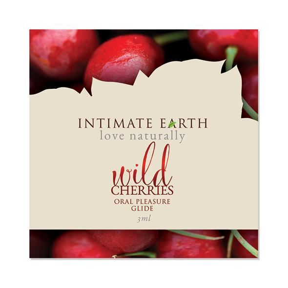 Intimate Earth - Oral Pleasure Glide Wild Cherry Foil 3 ml Online Sexshop Eroware Sexshop Sexspeeltjes