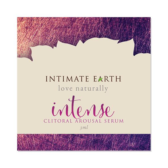 Intimate Earth - Clitoral Arousal Serum Intense Foil 3 ml Online Sexshop Eroware Sexshop Sexspeeltjes