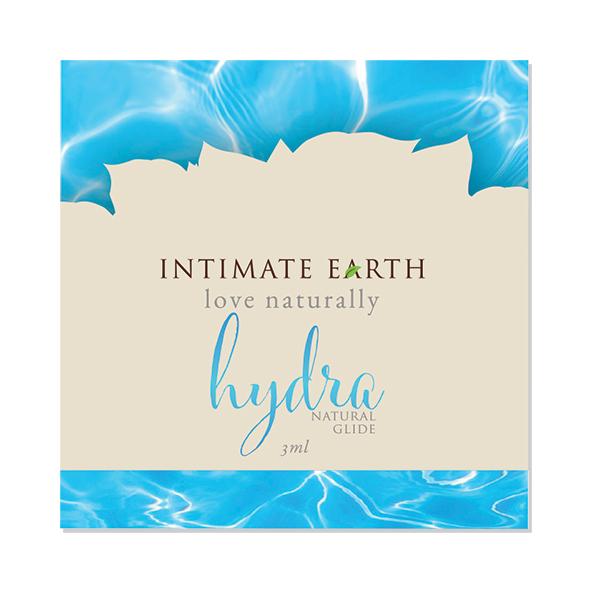 Intimate Earth - Hydra Natural Glide Foil 3 ml Online Sexshop Eroware Sexshop Sexspeeltjes