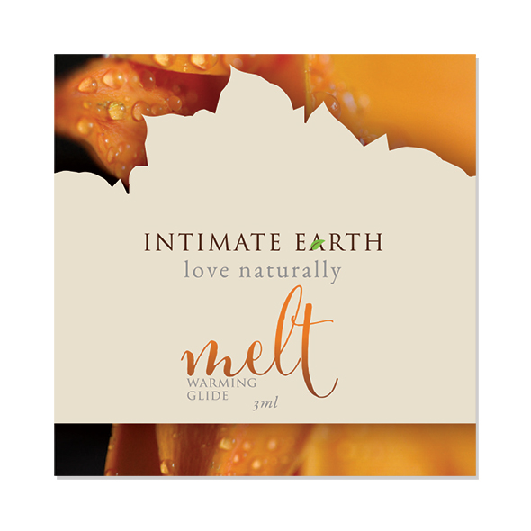 Intimate Earth - Melt Verwarmend Glijmiddel Foil 3 ml Online Sexshop Eroware Sexshop Sexspeeltjes