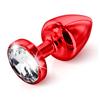 Diogol - Anni Butt Plug Round Red 30 mm Sexshop Eroware -  Sexartikelen