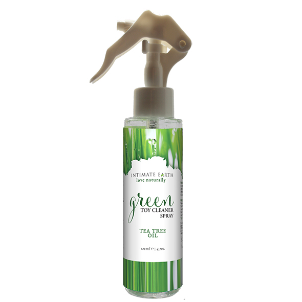 Intimate Earth - Groene Thee Toycleaner Spray 125 ml Online Sexshop Eroware Sexshop Sexspeeltjes