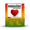 Masculan - Tutti Frutti & Aardbei & Groene Appel (3 pc) 16 st. Sexshop Eroware -  Sexspeeltjes