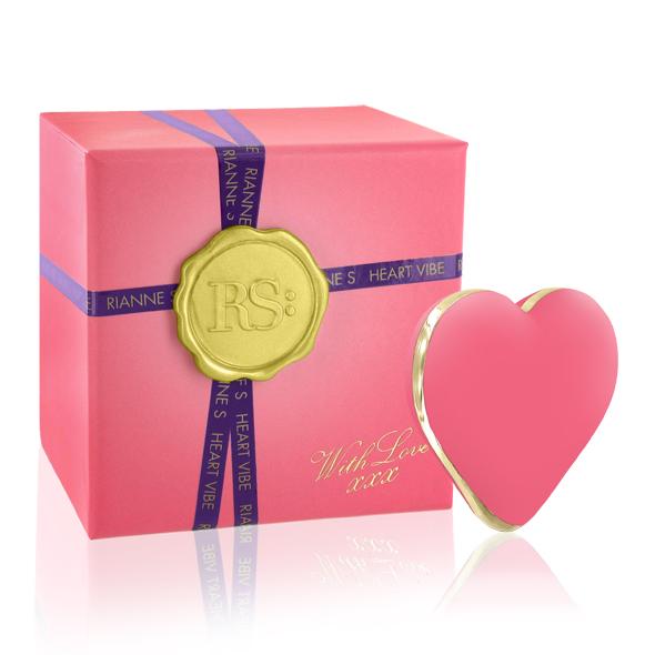 RS - Icons - Heart Vibe Coral Rose Online Sexshop Eroware Sexshop Sexspeeltjes
