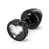 Diogol - Anni R Butt Plug Heart Black 25 mm Sexshop Eroware -  Sexartikelen