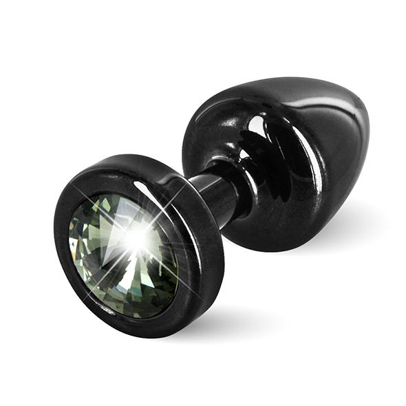 Diogol - Anni Butt Plug Round 25 mm Black & Black