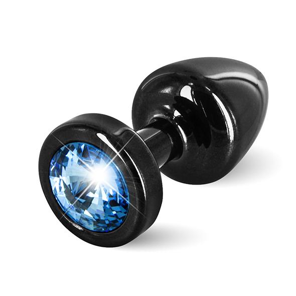 Diogol - Anni Butt Plug Round 25 mm Black & Blue